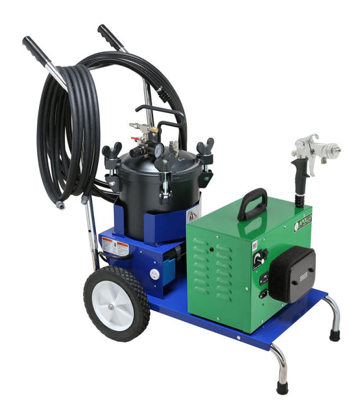 Apollo DR3001-PRO Cart & DR3002-PRO Cart Disinfecting HVLP Turbine Spray Systems – 2.5 Gallon Pressure Tank