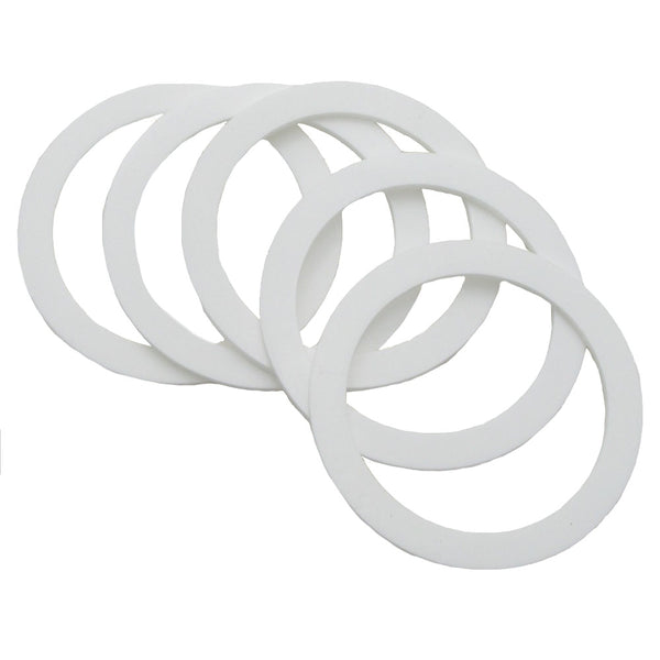 Apollo Replacement Lid Gasket (5 pack) for 1 Quart Bottom Feed Pressure Cup - (FS1672)