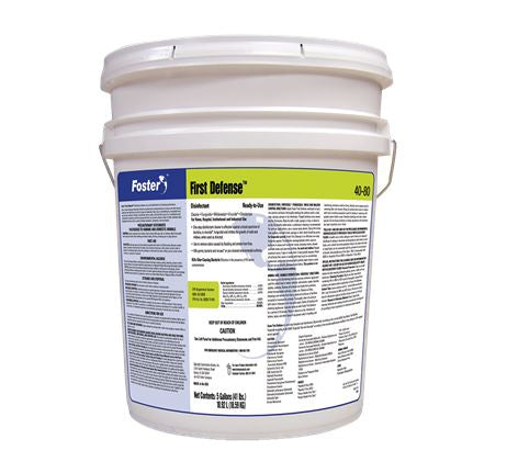 Foster® 40-80 First Defense® Disinfectant – 5 Gallon