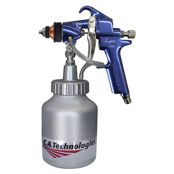 C.A. Technologies Lynx 100CM (L100CM – Multicolor Touch-Up) Conventional Pressure Feed Spray Gun
