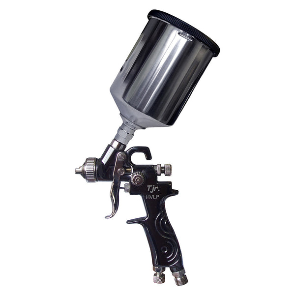 C.A. Technologies Techline TJR Deluxe (TJR-Deluxe) HVLP Gravity Feed Mini Spray Gun