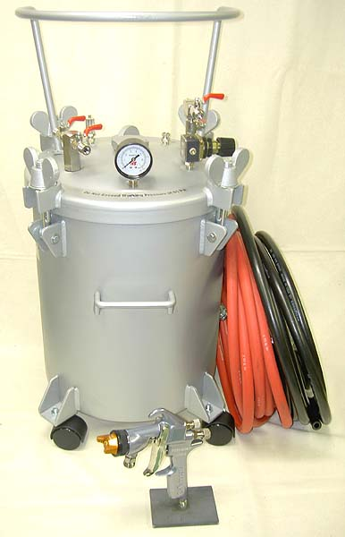 5 Gallon Glue Pressure Pot Spray System
