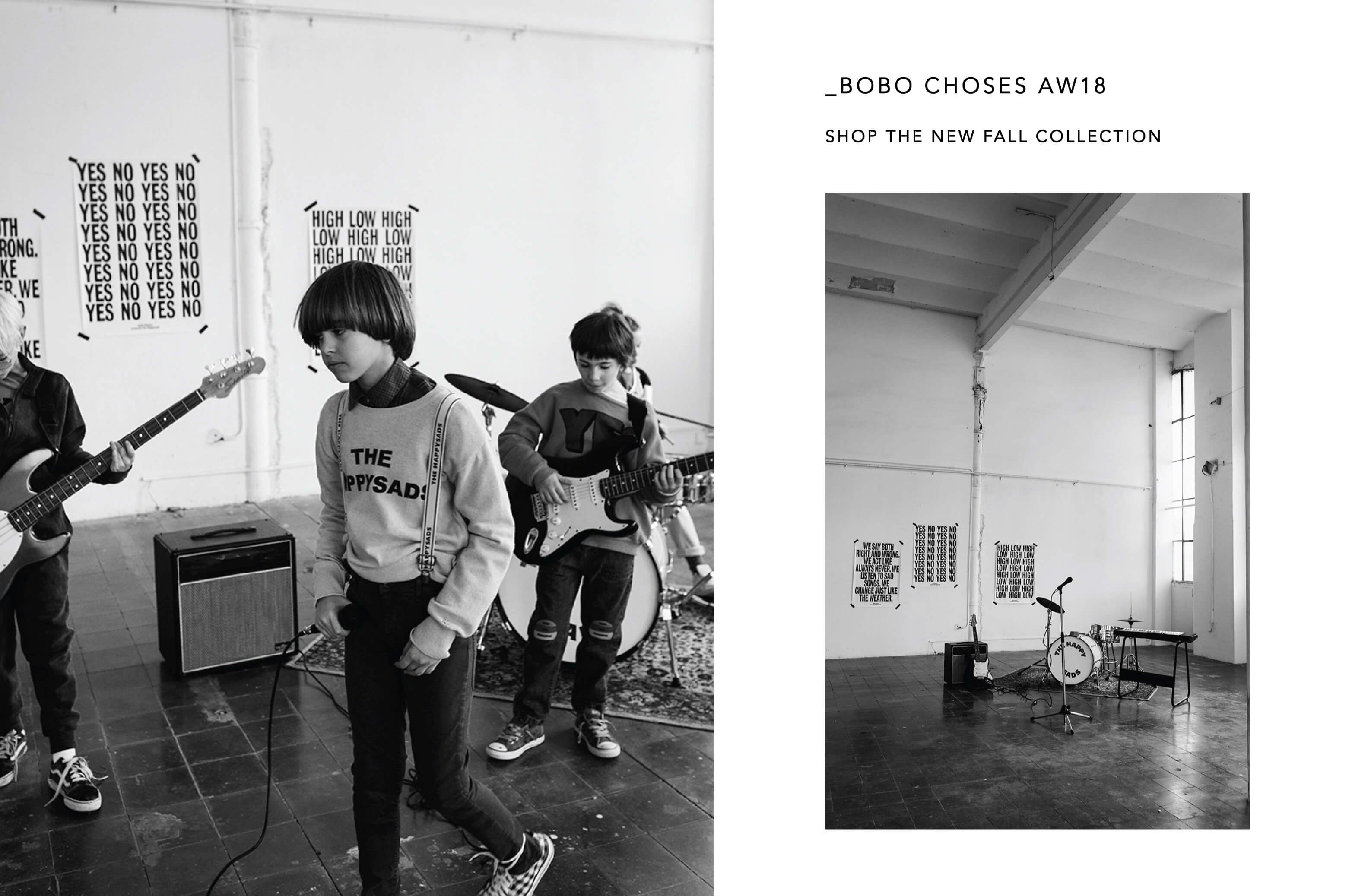 BOBO CHOSES AUTUMN/WINTER 2018 | BIEN BIEN