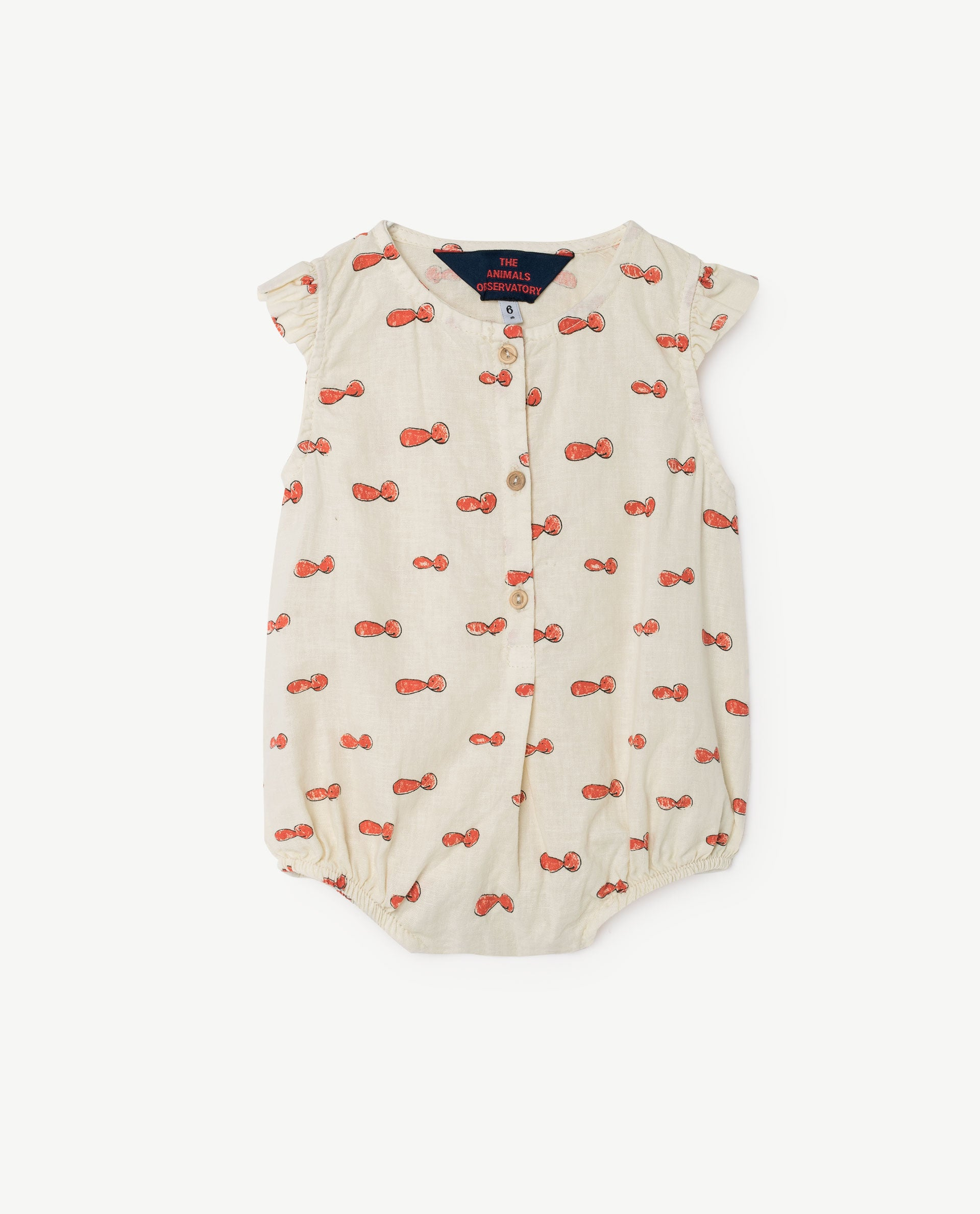 The Animals Observatory Butterfly Baby Romper in Noseman | BIEN BIEN