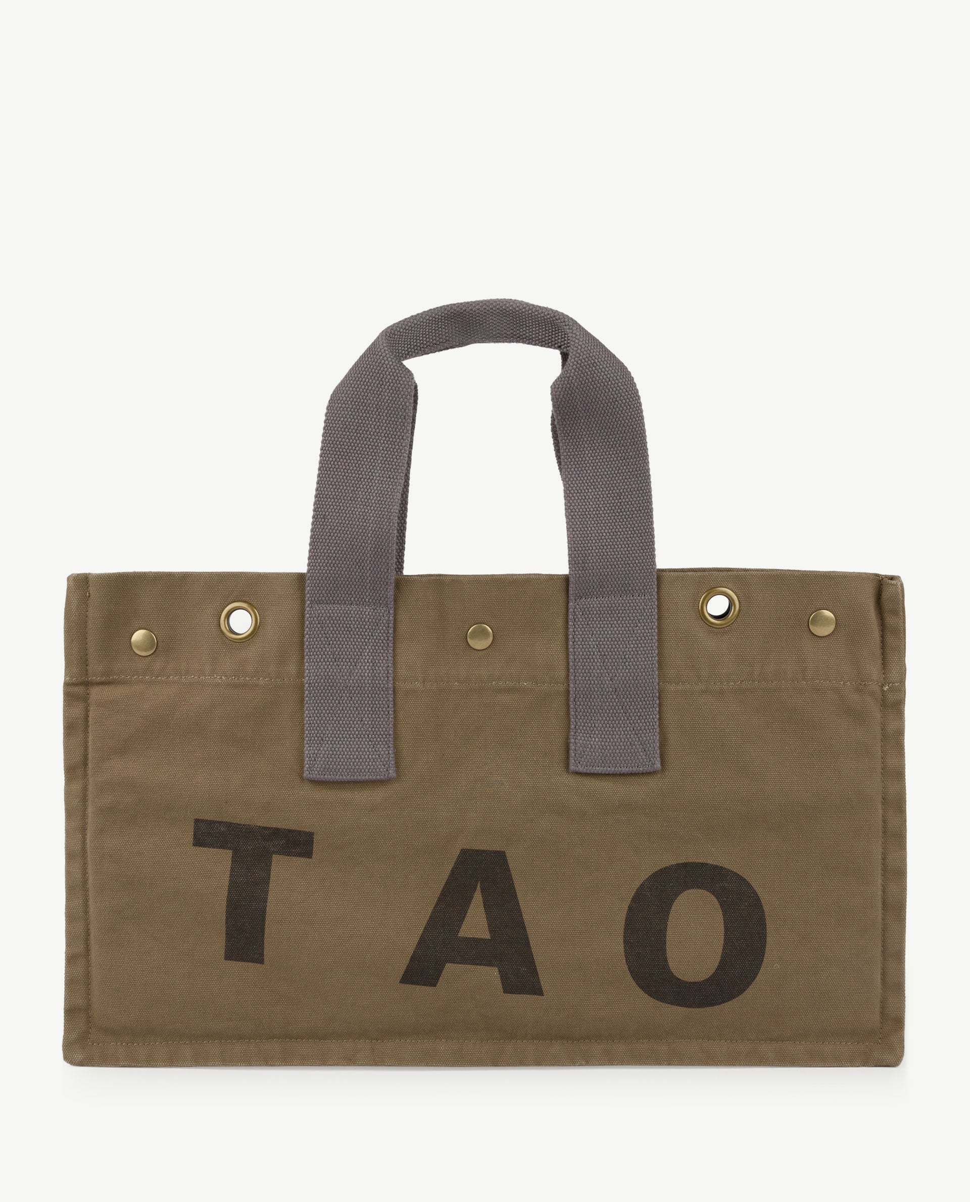 The Animals Observatory Canvas Bag in Military Green TAO | BIEN BIEN