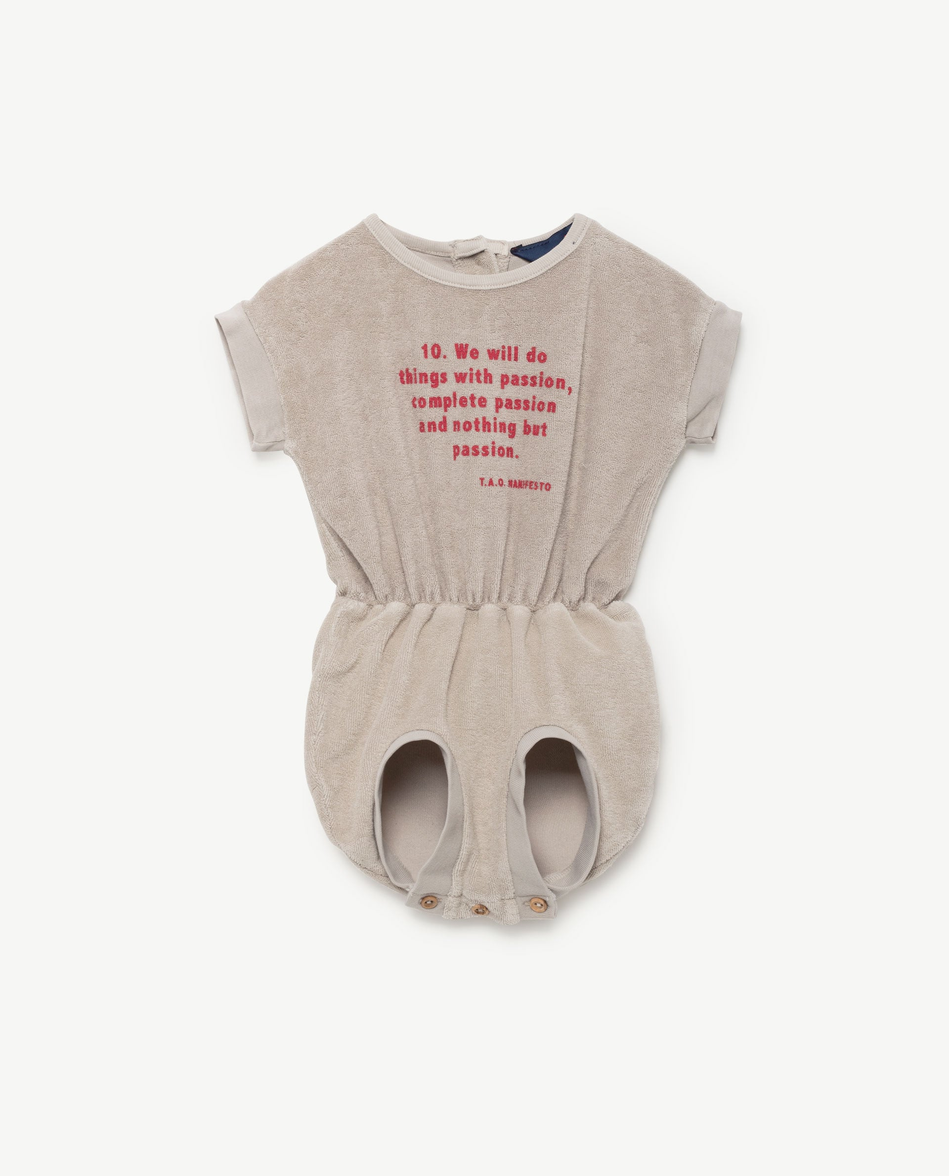 The Animals Observatory Koala Baby Suit in Beige Manifesto | BIEN BIEN