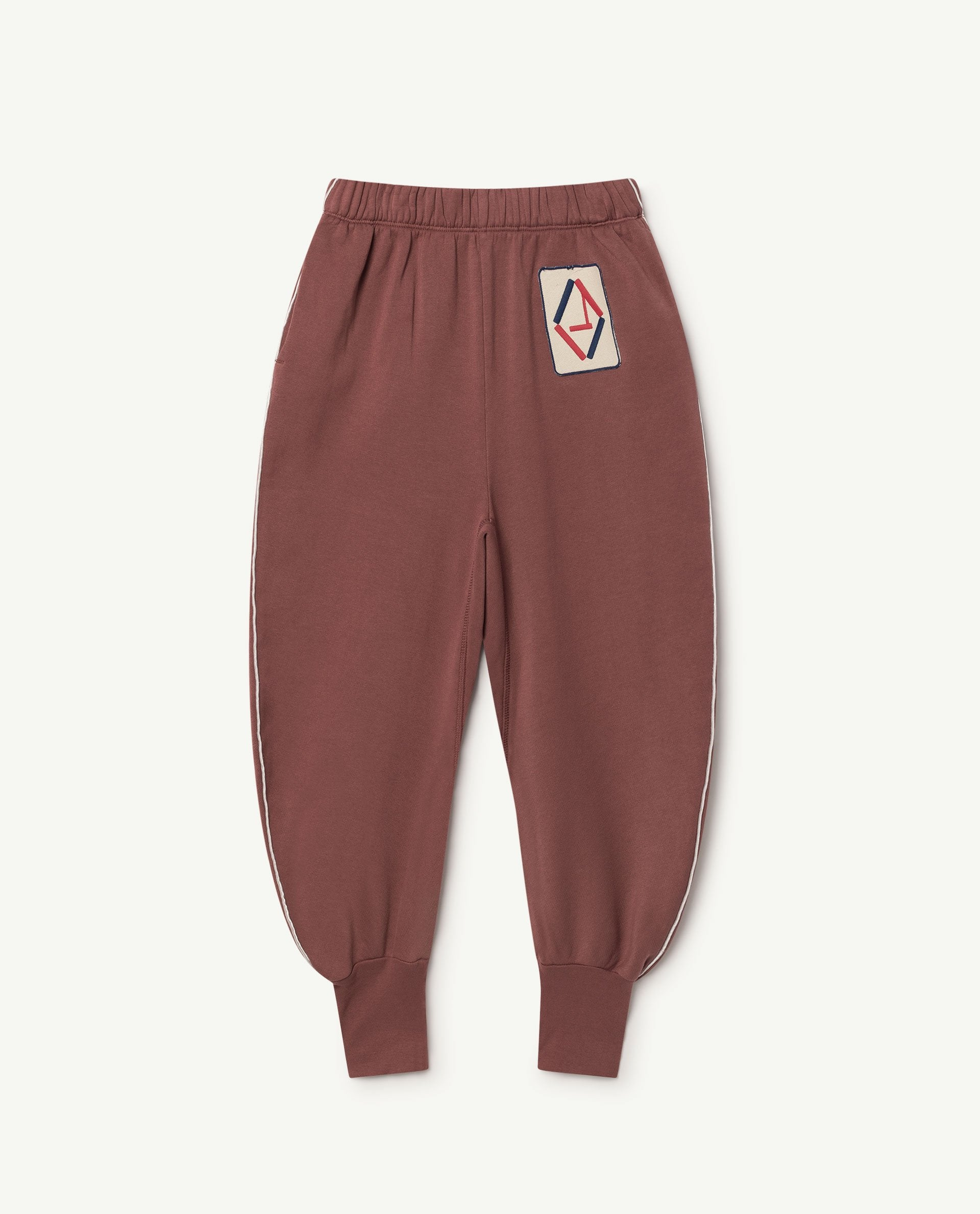 The Animals Observatory Dromedary Unisex Kid's Sweatpant Maroon | BIEN BIEN