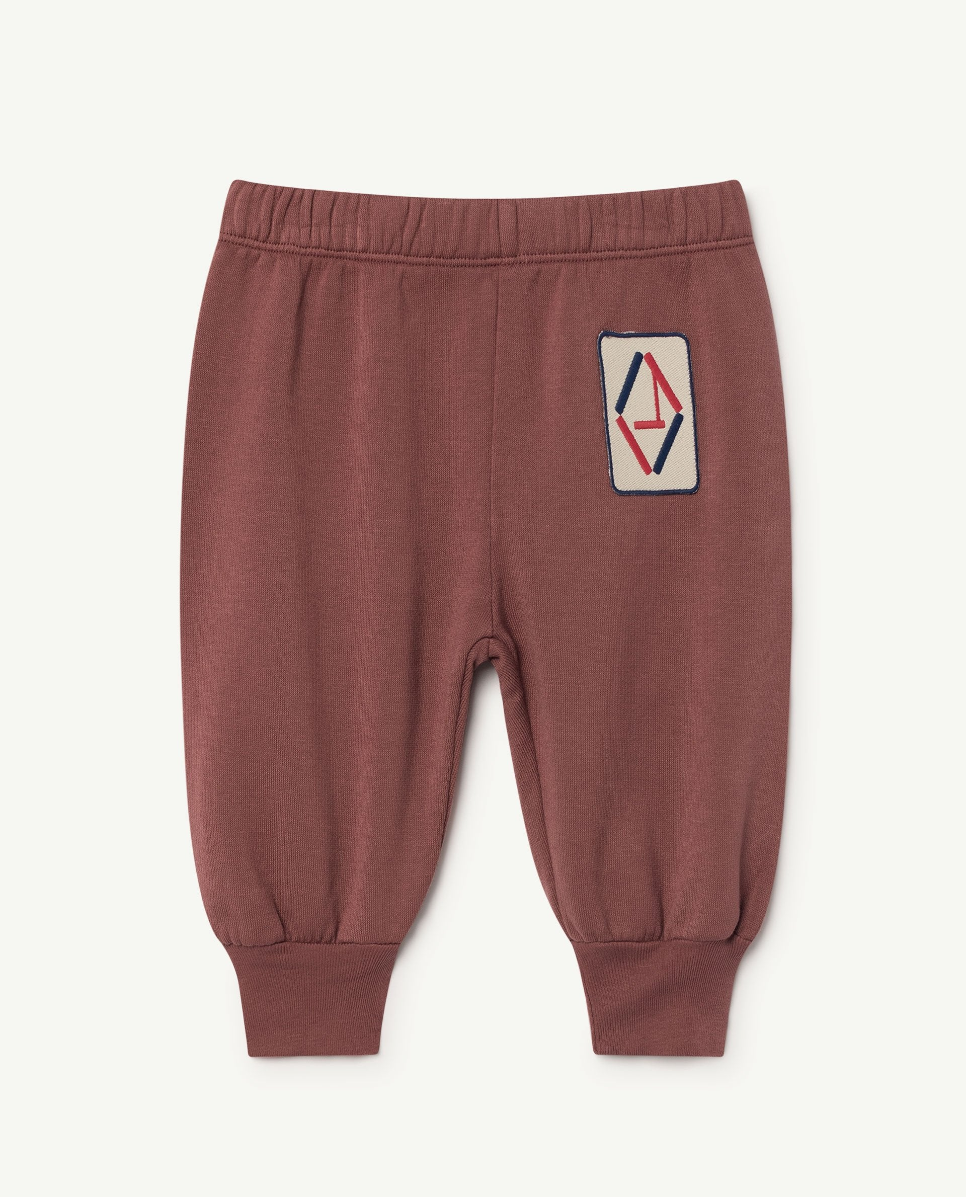 The Animals Observatory Dromedary Unisex Baby Jogger Pant Maroon | BIEN BIEN