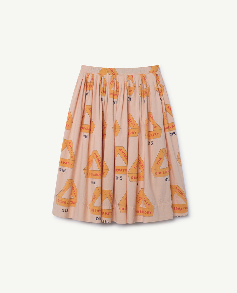 The Animals Observatory Jellyfish Kid's Skirt Rose Triangles | BIEN BIEN