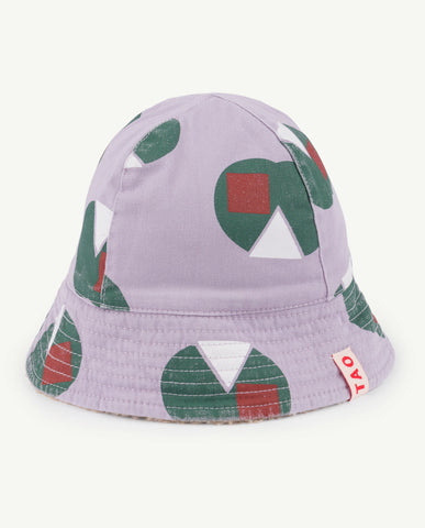 The Animals Observatory Starfish Unisex Baby Hat Purple Apples | BIEN BIEN