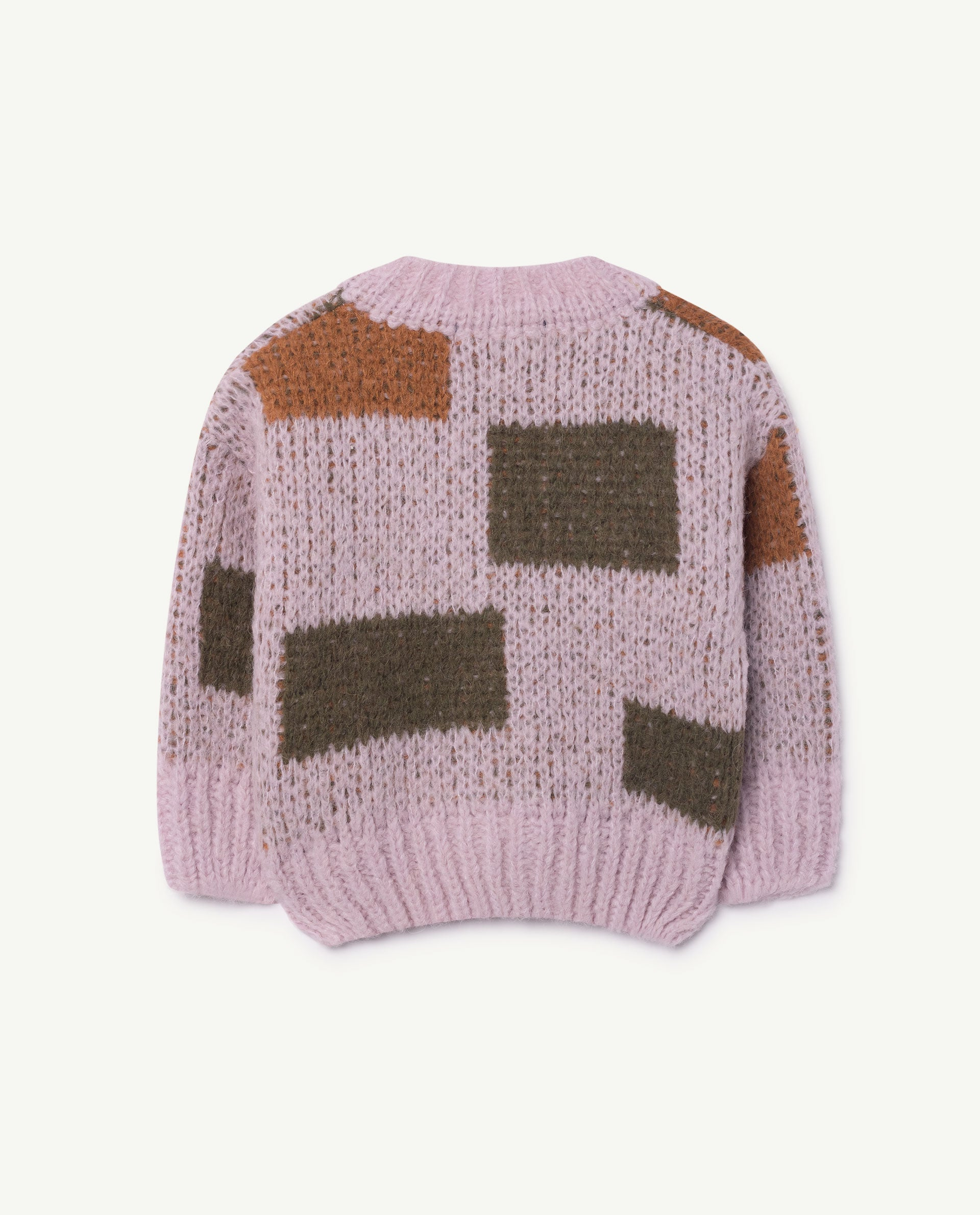 0f60e6f1662a The Animals Observatory Arty Peasant Baby Cardigan Purple