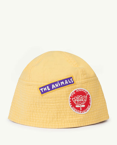 The Animals Observatory Starfish Kid's Bucket Hat Yellow | BIEN BIEN | www.bienbienshop.com