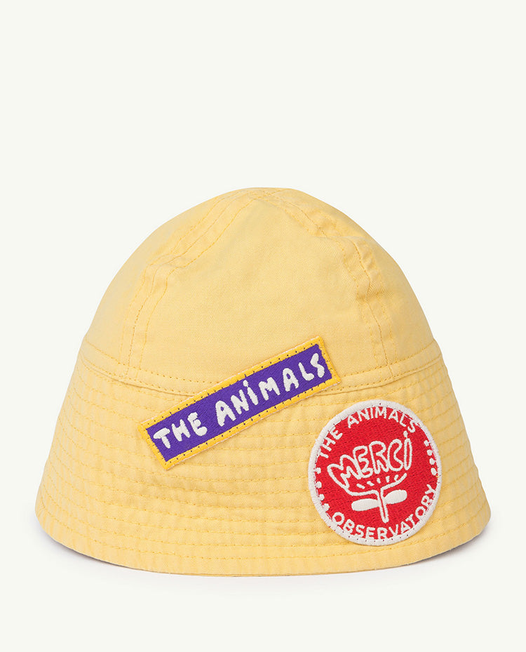 The Animals Observatory Starfish Unisex Baby Hat Pale Yellow | BIEN BIEN | www.bienbienshop.com