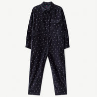 New - The Animals Observatory Grasshopper Kid's Jumpsuit Navy | BIEN BIEN www.bienbienshop.com