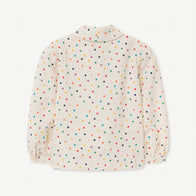 New - The Animals Observatory Gadfly Kid's Blouse Confetti Dot | BIEN BIEN www.bienbienshop.com