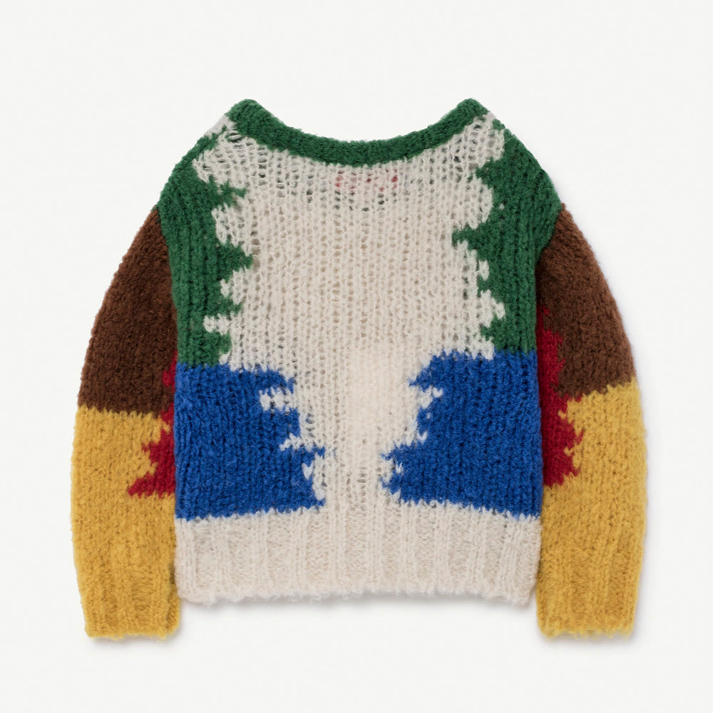 New - The Animals Observatory Blowfish Wool Baby Sweater | BIEN BIEN www.bienbienshop.com