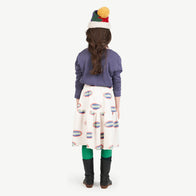 New - The Animals Observatory Pony Kid's Pompom Hat Blue | BIEN BIEN www.bienbienshop.com