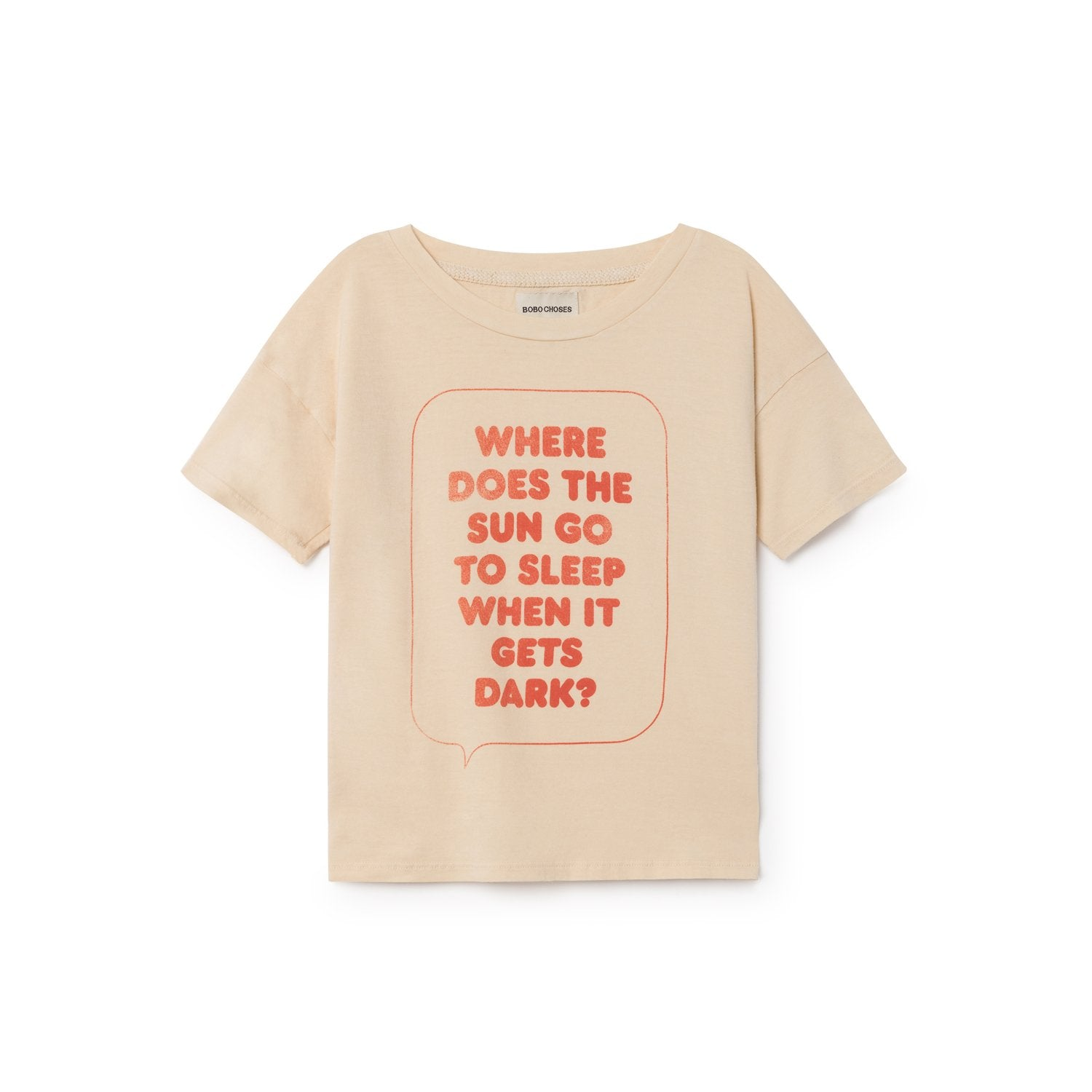 Bobo Choses Where Does Sun Go To Sleep Kid's T-Shirt | BIEN BIEN