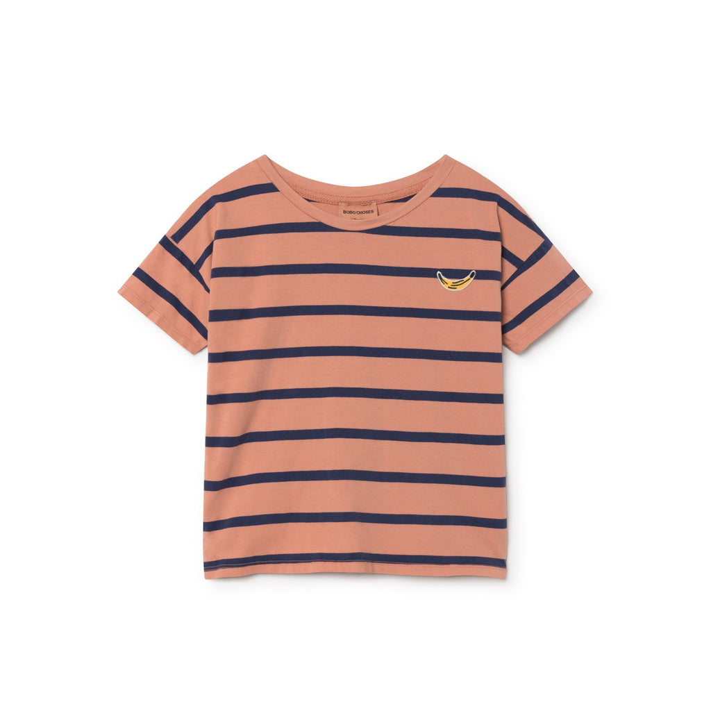 Bobo Choses Breton Stripe Banana Kid's T-Shirt | BIEN BIEN