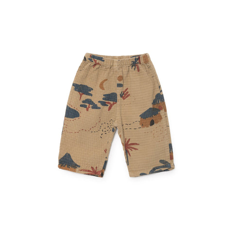 Bobo Choses Gombe Baby Trousers in Sand | BIEN BIEN