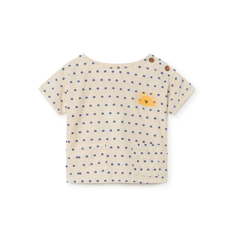 Bobo Choses Sun Short Sleeve Baby Girl Blouse | BIEN BIEN