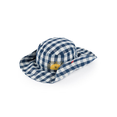 Bobo Choses Gingham Check Kid's Sun Hat | BIEN BIEN