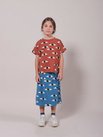 NEW Bobo Choses Eyes All Over Kid's Tee Coconut Shell Organic Cotton | BIEN BIEN bienbienshop.com