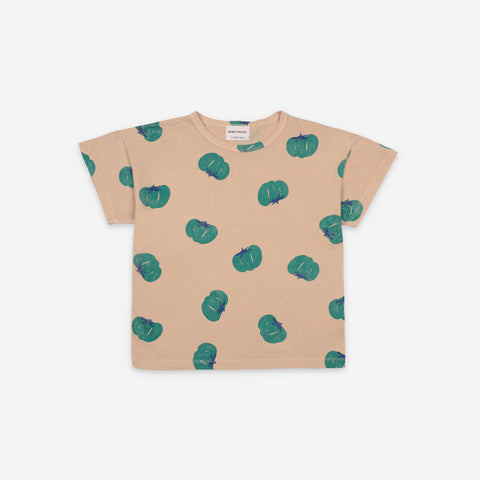 NEW Bobo Choses Tomatoes All Over Kid's Tee Brush Organic Cotton | BIEN BIEN bienbienshop