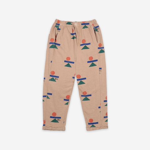 NEW Bobo Choses Balance Kid Fleece Track Pant Brush | BIEN BIEN
