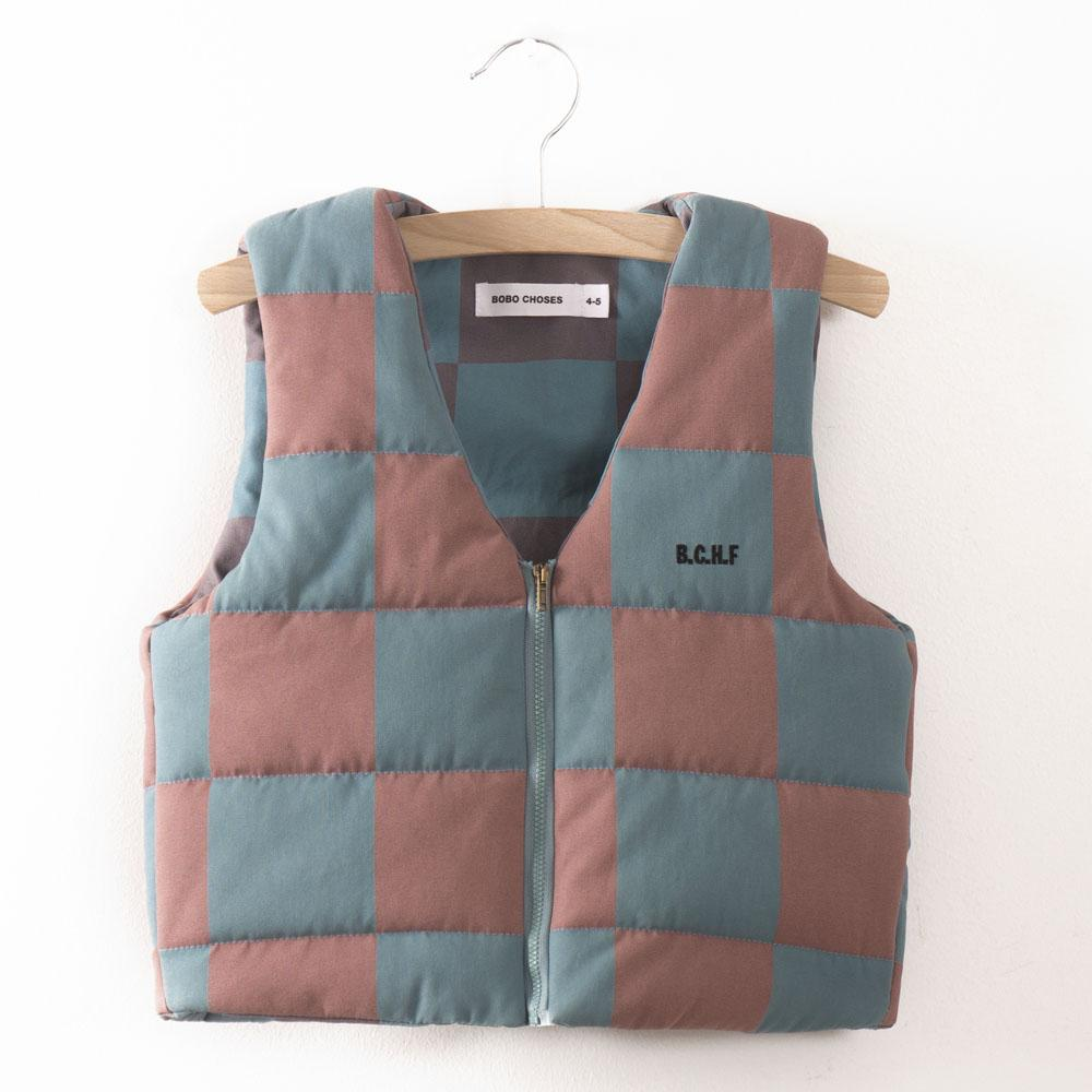Bobo Choses Quilted Kid's Waistcoat in November | BIEN BIEN