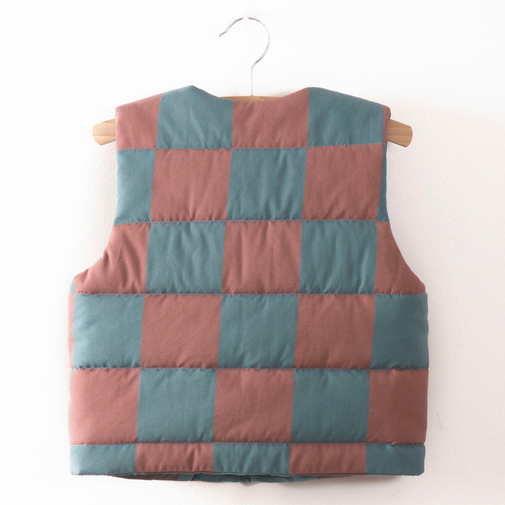 Quilted Kid's Waistcoat