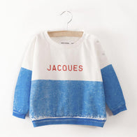 Bobo Choses Boat Baby Sweatshirt in Jacques Blue | BIEN BIEN