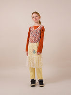 Tulle Dropped Waist Kid's Dress