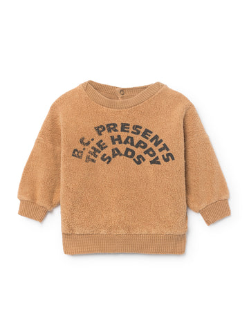 The Happy Sads Sheepskin Fleece Baby Sweatshirt