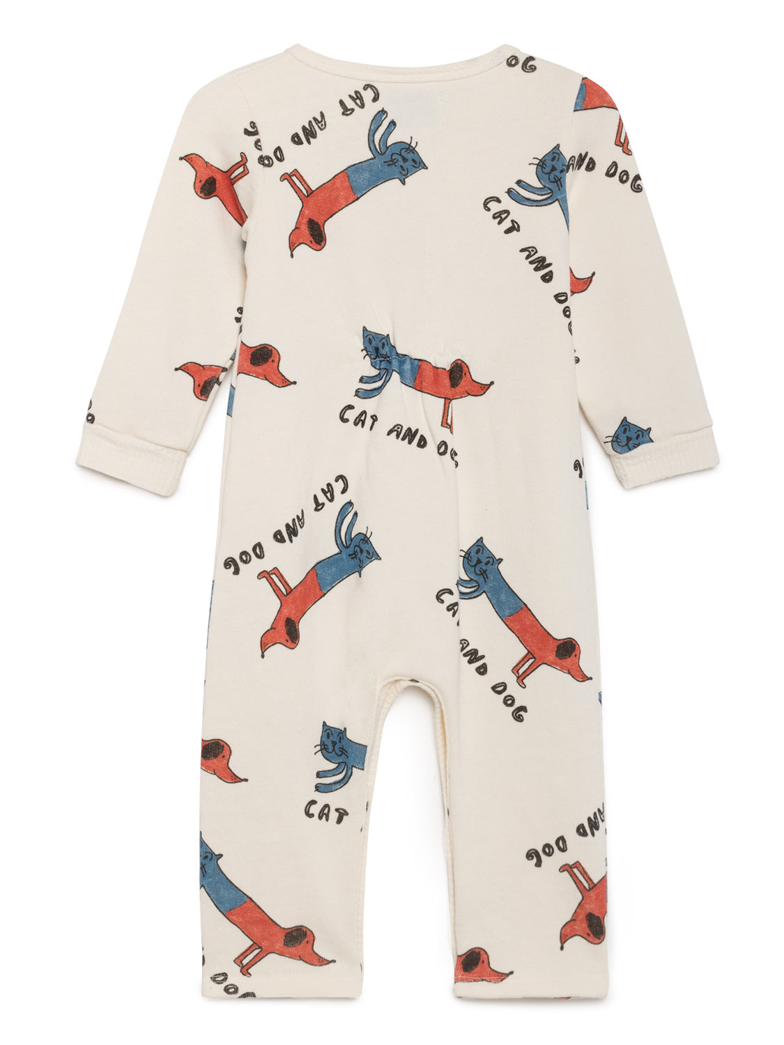Cats & Dogs Baby Playsuit