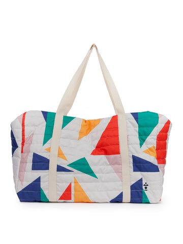 Geometric Padded Sports Bag