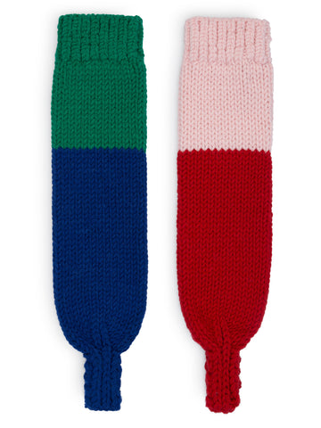 Geometric Kid's Leg Warmers