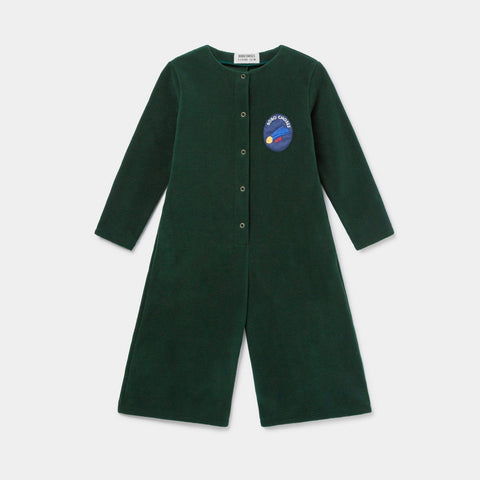 Bobo Choses Polar Fleece Kid's Jumpsuit Sea Moss | BIEN BIEN www.bienbienshop.com