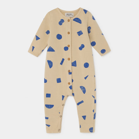 Bobo Choses Allover Stuff Baby Jumpsuit Pebble | BIEN BIEN www.bienbienshop.com