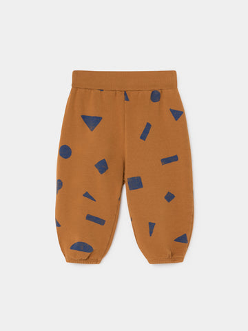 Bobo Choses Allover Stuff Baby Jogger Pants Curry | BIEN BIEN www.bienbienshop.com