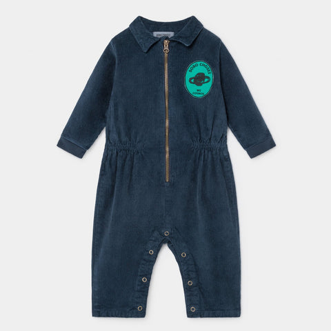 Bobo Choses Star Called Home Cord Baby Romper Estate Blue | BIEN BIEN www.bienbienshop.com