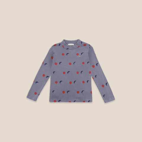 Bobo Choses Night Kid Turtleneck Shirt Organic Cotton NEW | BIEN BIEN bienbienshop.com