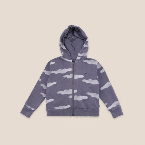 Bobo Choses Cloud Kid Hooded Zipper Sweatshirt Compote Organic Cotton | BIEN BIEN bienbienshop.com