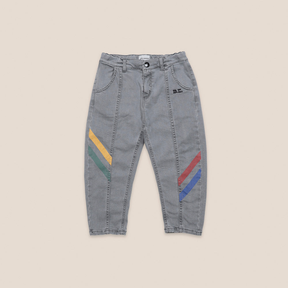 Bobo Choses Kid Multicolor Denim Trouser Light Wash | BIEN BIEN bienbienshop.com