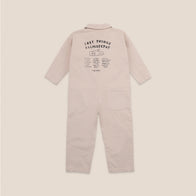 Bobo Choses Lost Things Recollector Kid's Jumpsuit Brown Rice  | BIEN BIEN bienbienshop.com
