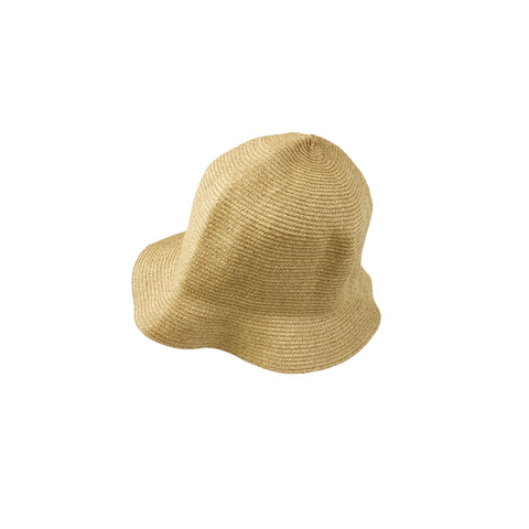 Arch & Line Unisex Kid's Packable Straw Hat  |  BIEN BIEN www.bienbienshop.com