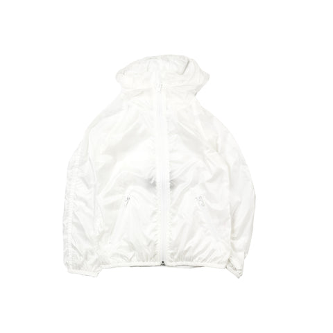 Arch & Line Air Unisex Kid's Windbreaker White Grid  |  BIEN BIEN www.bienbienshop.com