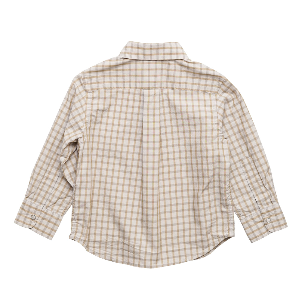 Butter Check Kid's Shirt
