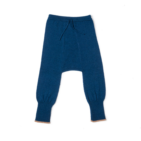 As We Grow Alpaca Unisex Baby Jogger Pant in Blue | BIEN BIEN