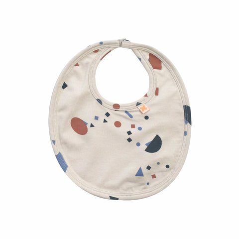 Tiny Cottons Unisex Geometry Chat Baby Bib | BIEN BIEN